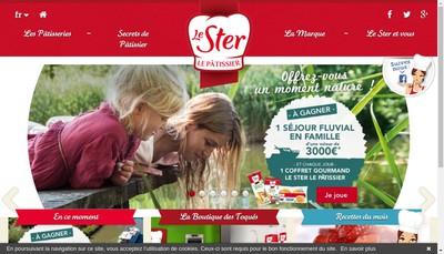 Site internet de Etablissements le Ster