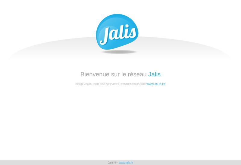 Capture d'écran du site de Les Zigot Aix
