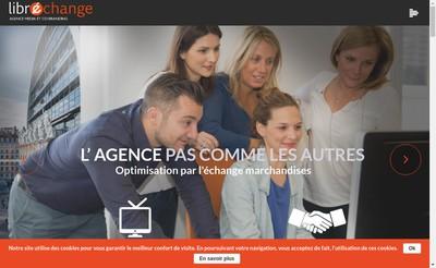 Site internet de Librechange
