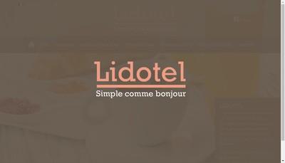Site internet de Lidotel