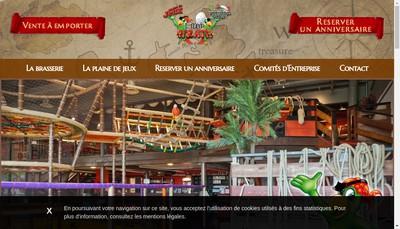 Site internet de L'Ilot Pirate