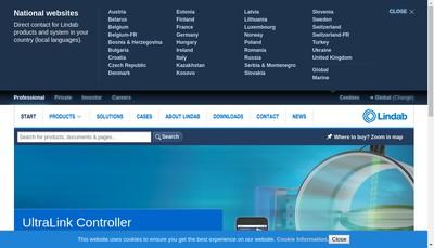 Site internet de Lindab France