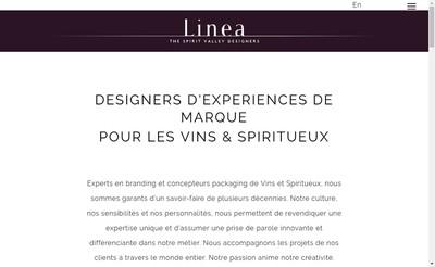 Site internet de Linea Global Design