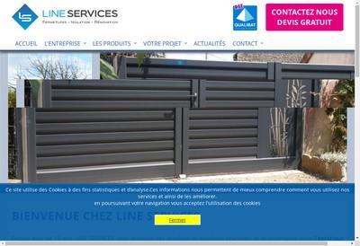 Site internet de Line Services