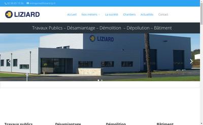 Site internet de Liziard Environnement
