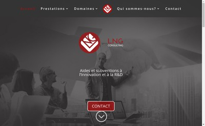 Site internet de Lng Consulting