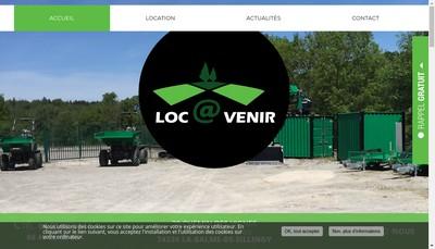 Site internet de Loc@Venir