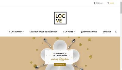 Site internet de Loc Ve
