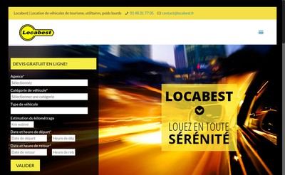 Site internet de Locabest
