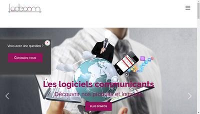 Site internet de Lodecom