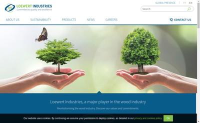 Site internet de Loewert Industries