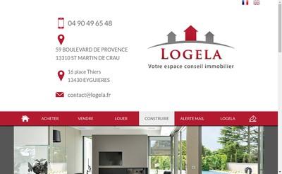 Site internet de Logela