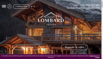 Site internet de Lombard et Vasina