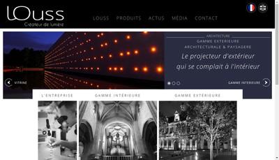 Site internet de Louss