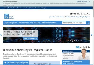 Site internet de Lrqa France