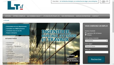 Site internet de Ltd Consulting