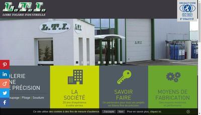 Site internet de Loire Tolerie Industrielle