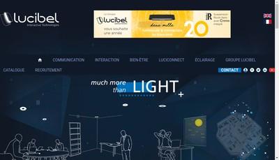 Site internet de Lucibel SA