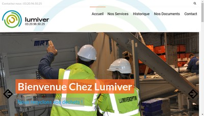 Site internet de Lumiver