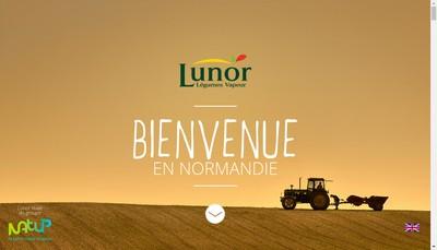 Site internet de Lunor Distribution