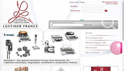 Site internet de Lustiner France