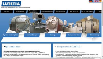 Site internet de Lutetia