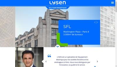 Site internet de Lysen