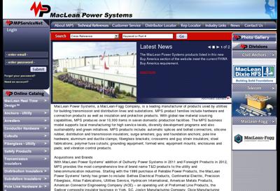 Capture d'écran du site de Reinhausen France