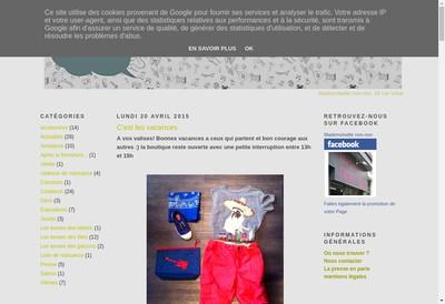 Site internet de Mademoiselle Non Non