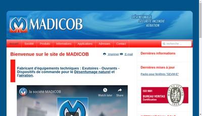 Site internet de Madicob