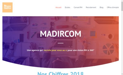 Site internet de MADIRCOM