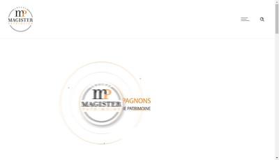 Site internet de Patrimoine Consultant