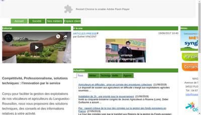 Site internet de Sa Magne