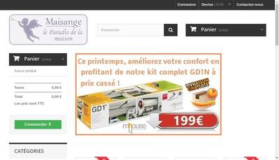 Site internet de Maisange