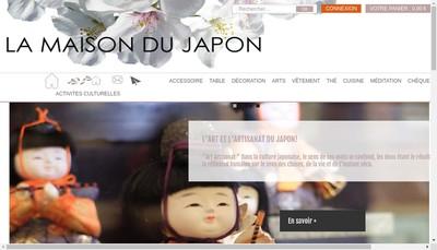 Site internet de La Maison du Japon