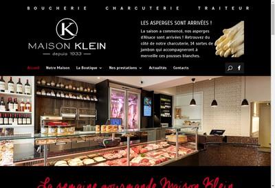Site internet de Maison Klein