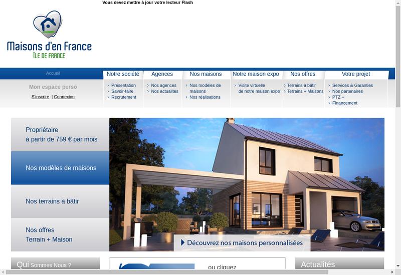 Capture d'écran du site de Domendi