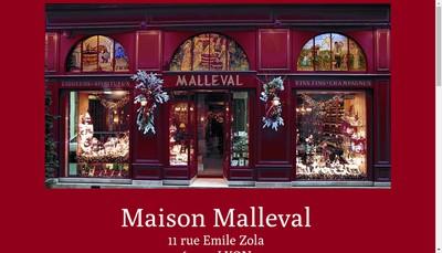 Site internet de Maison Malleval