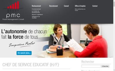 Site internet de Probst Management Conseils