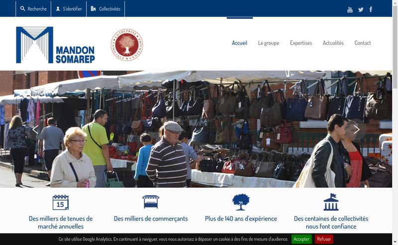 Capture d'écran du site de Citavia