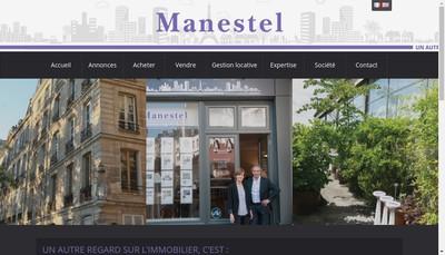 Site internet de Manestel