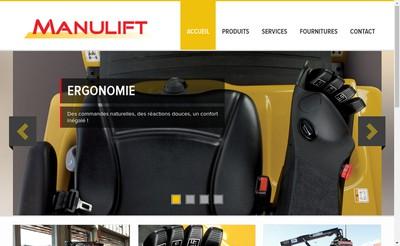 Site internet de Manulift