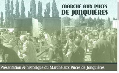 Site internet de Le Marche aux Puces