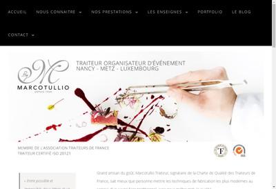 Site internet de Marcotullio Receptions France