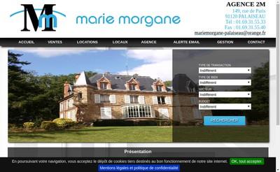 Site internet de Agence 2M