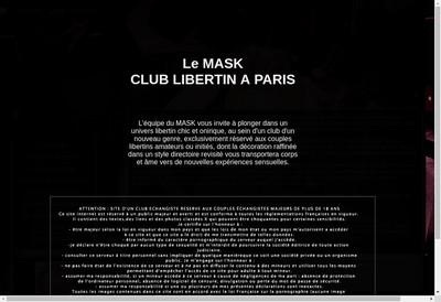 Site internet de Mask