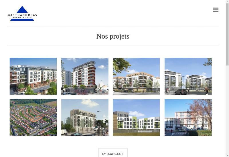 Capture d'écran du site de Aau Mastrandreas
