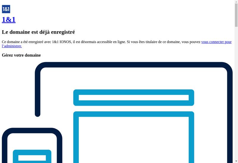 Capture d'écran du site de Benjamin Toury