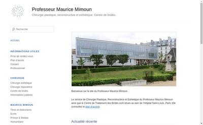Site internet de Maurice Mimoun