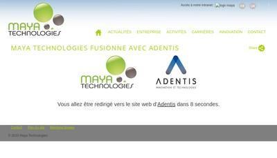 Site internet de Maya Group